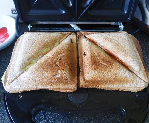 Сэндвич в мультипекаре - рецепт пошаговый с фото